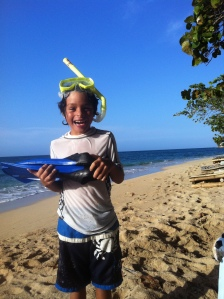 Ronan Snorkelling - Reggae Beach