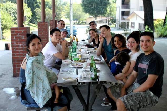 Some of our Seoul Homeschool Family