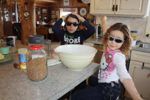 Baking with Shades