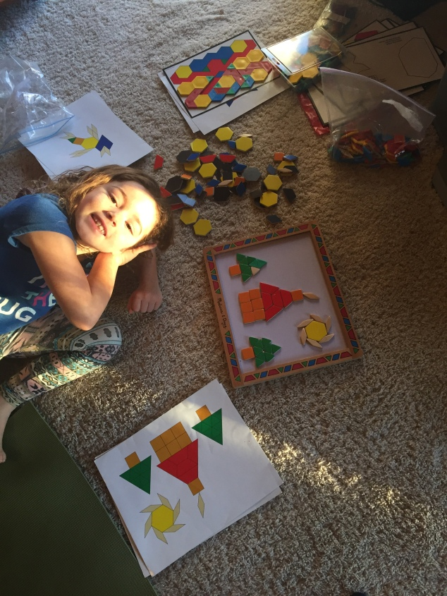 Another Tangram Puzzle...one of many
